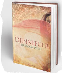 Djinn2 Hardcover Book MockUp blanc