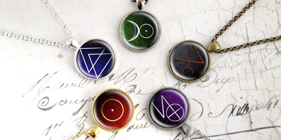 Elemente der Schattenwelt Hunter-Symbole